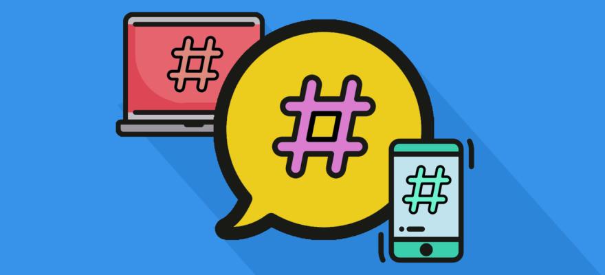 O que são as hashtags